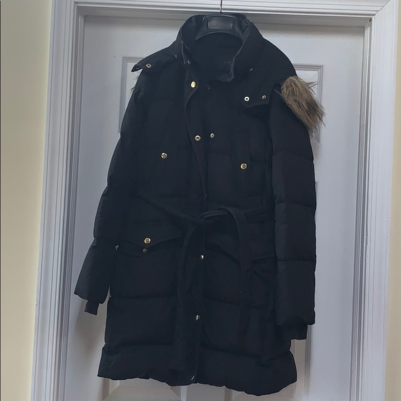 J. Crew Jackets & Blazers - Black long puffer coat